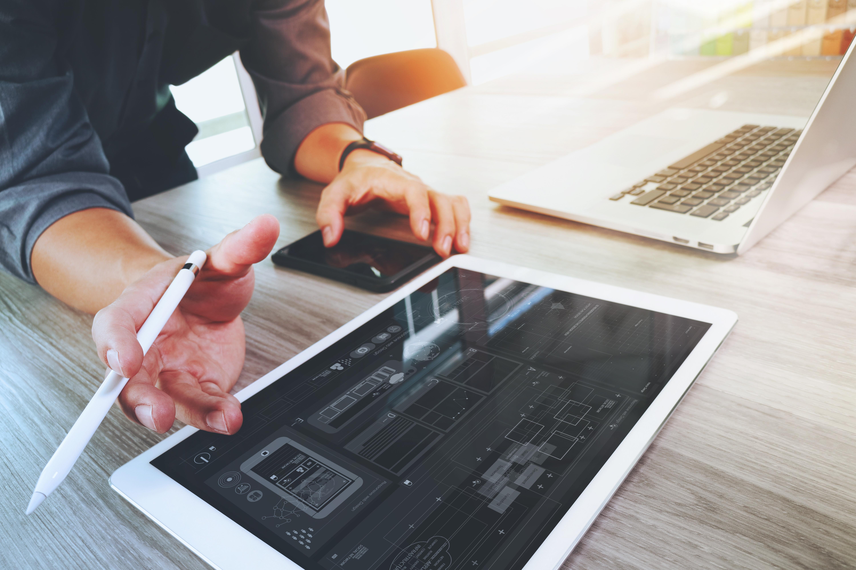Zone Webdesign Digital Tablet